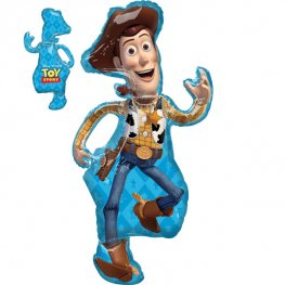 Toy Story Woody Supershape Helium Filled Foil Balloon