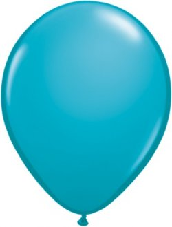 Tropical Teal Latex Balloon (Sold loose)