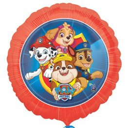 Paw Patrol Round Helium Filled Foil Balloon