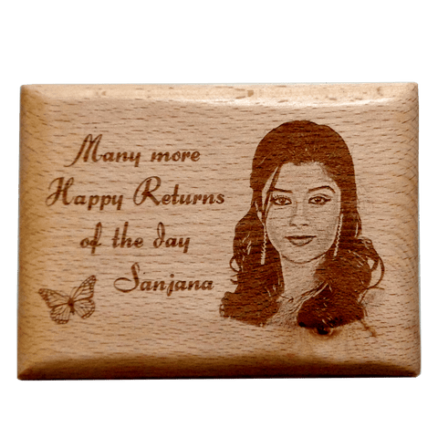 Wooden Plaque 4*5