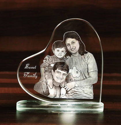 Personalized  Gift for Her ViVi Crystal Photo key Chains