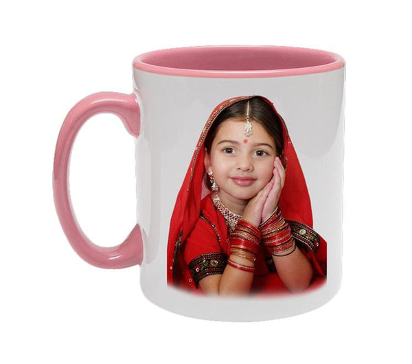 Pink Colour Mug Inside