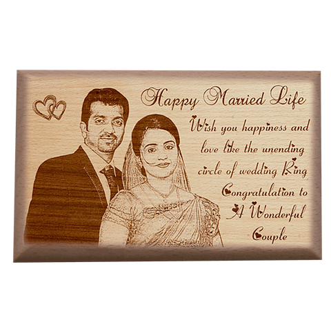 wooden plaque 9*15
