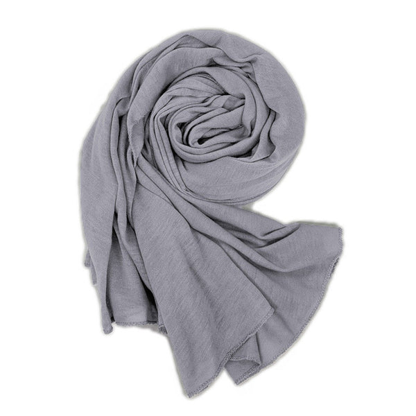Solid Cotton Hijab
