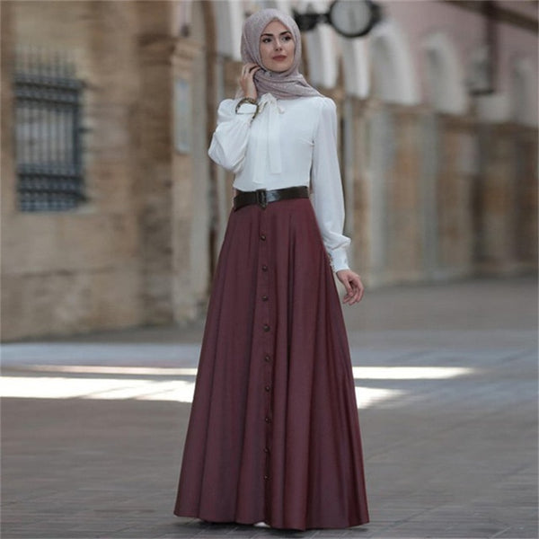 Pleated Elegant Skirt