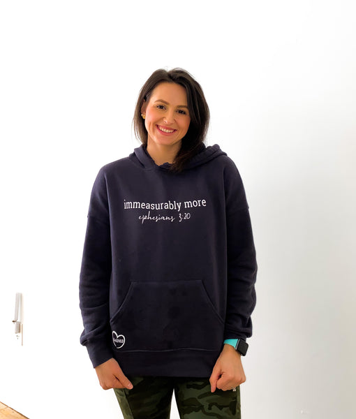 IMMEASURABLY MORE PERFECT HOODIE