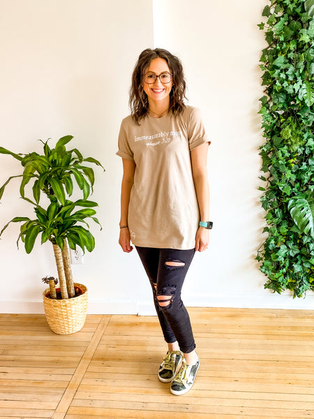 IMMEASURABLY MORE TEE