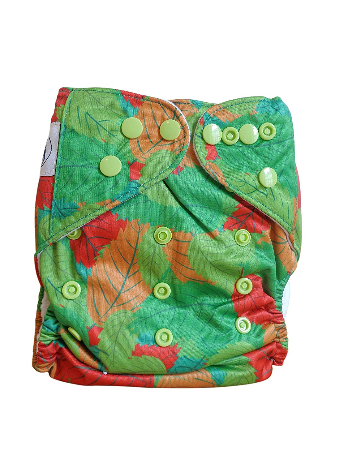 inc 2 inserts each Three Little Imps Unisex Patterned Cloth Nappies Set of 6