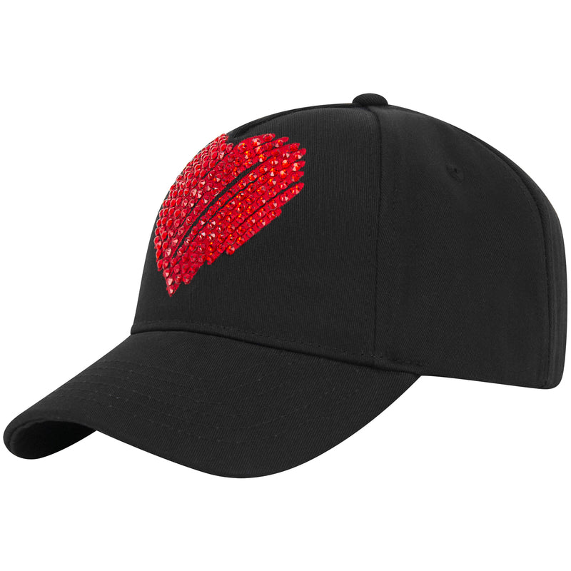 DONT HATE  CAP BLACK X SWAROVSKI