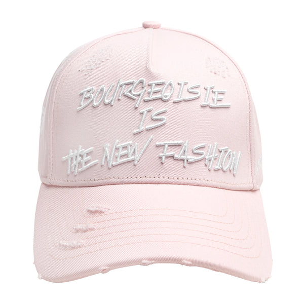 BOURGEOISIE IS THE NEW FASHION CAP SOFT PINK