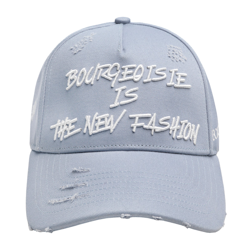 BOURGEOISIE IS THE NEW FASHION CAP LIGHT BLUE