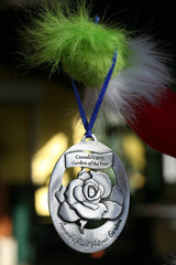 "Pewter Ornament ""Canada's Garden of the Year"""