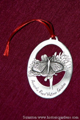 "Pewter Ornament ""Monarch Butterfly"""