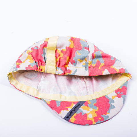 cycling cap | Ligero | summer camo | interior | Lucky Basterds
