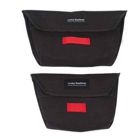 both sizes | Hip pouch | black