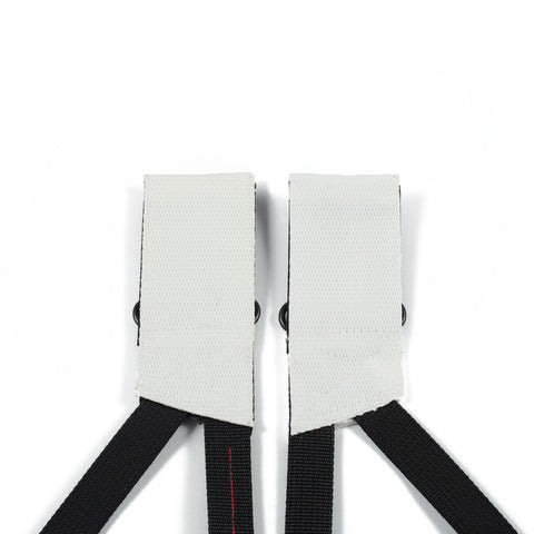 pedal straps Buckle part | white | lucky basterds