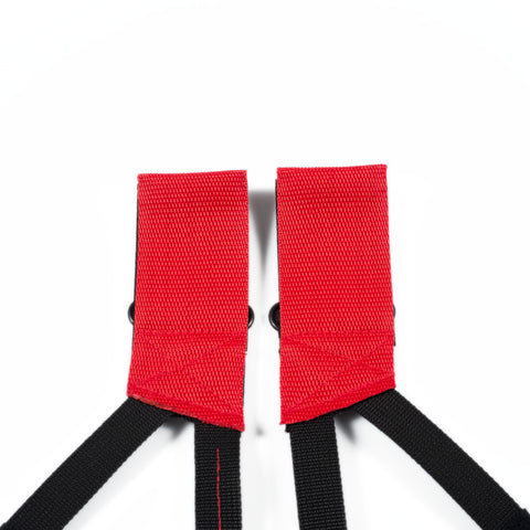 pedal strap Buckle part | red | lucky basterds