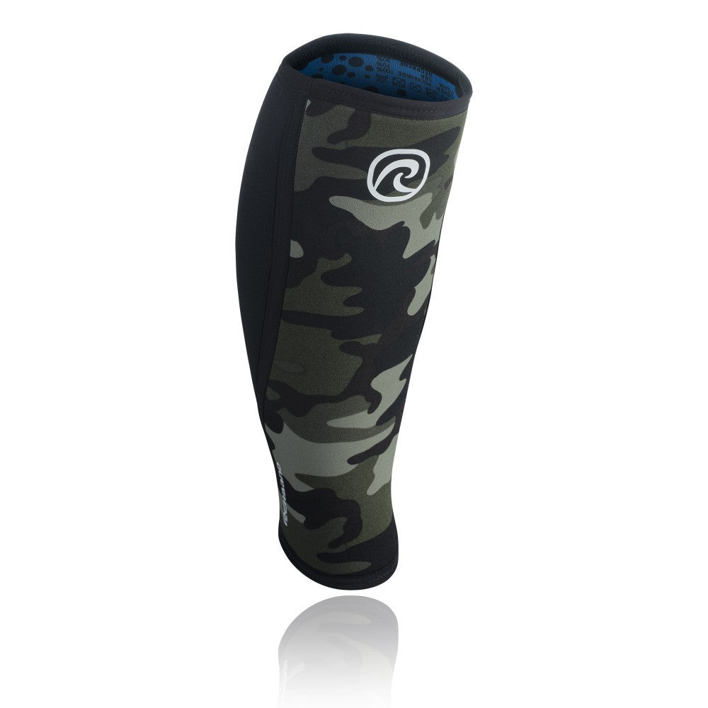 Rehband Rx Shin Sleeve 5mm  - Camo/Black