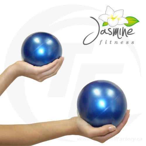 Jasmine Fitness 2lbs Pilates Weighted Balls - pair