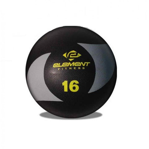 Element Fitness Commercial 16 lbs Medicine Ball