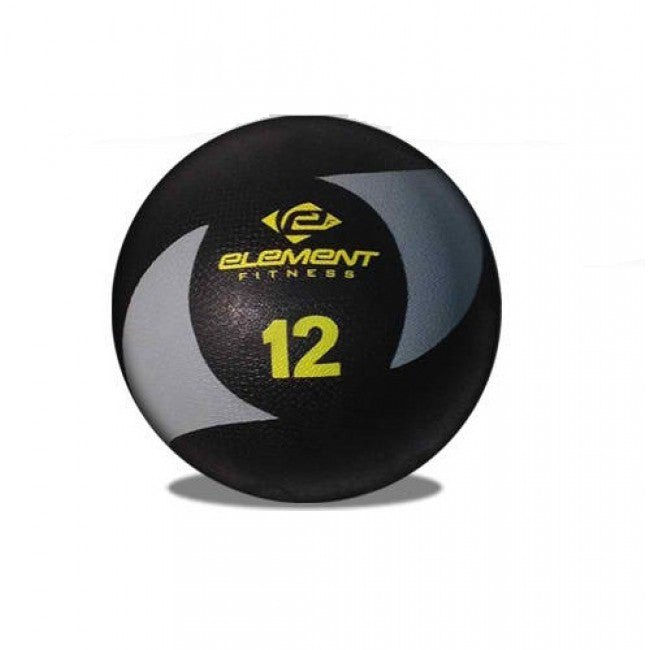 Element Fitness Commercial 12 lbs Medicine Ball