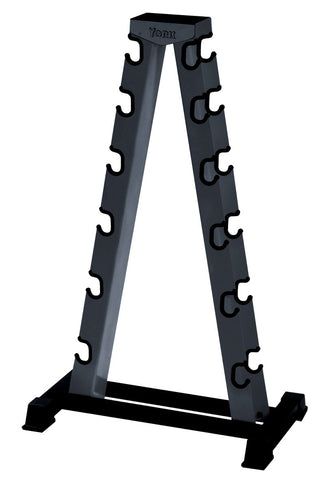 York 6 Pair A-Frame Dumbbell Rack