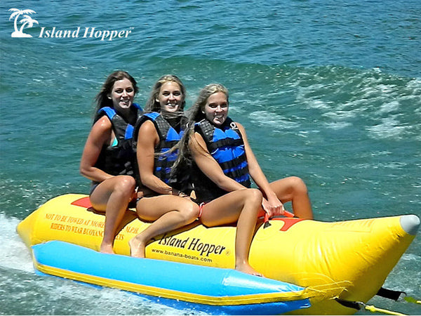 Island Hopper -3 Person Banana Boat