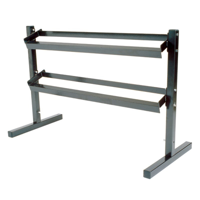 York 2 Tier Dumbbell Stand