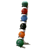 Body-SOLID Medicine Ball Rack 6