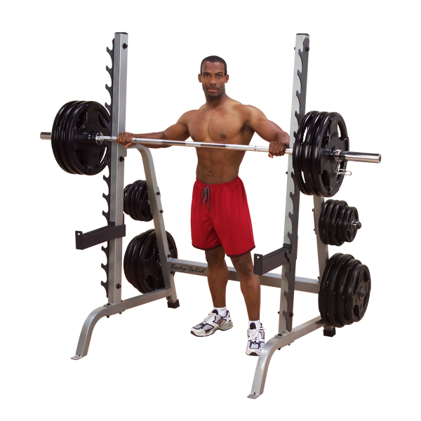 "Body Solid 2"" X 3"" Multi-Press Rack"