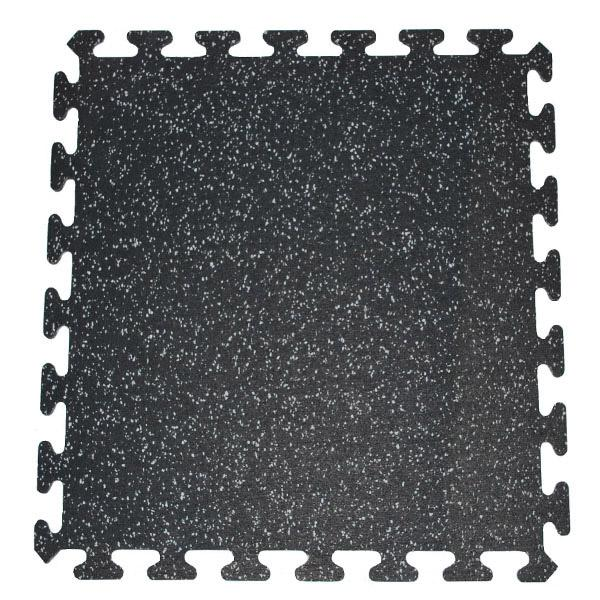 Rymar - 8mm/ 2' x 2' Rubber Tile - Interlocking Pieces