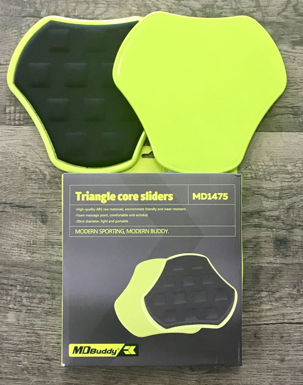 MD Buddy Triangle Core Slider Discs