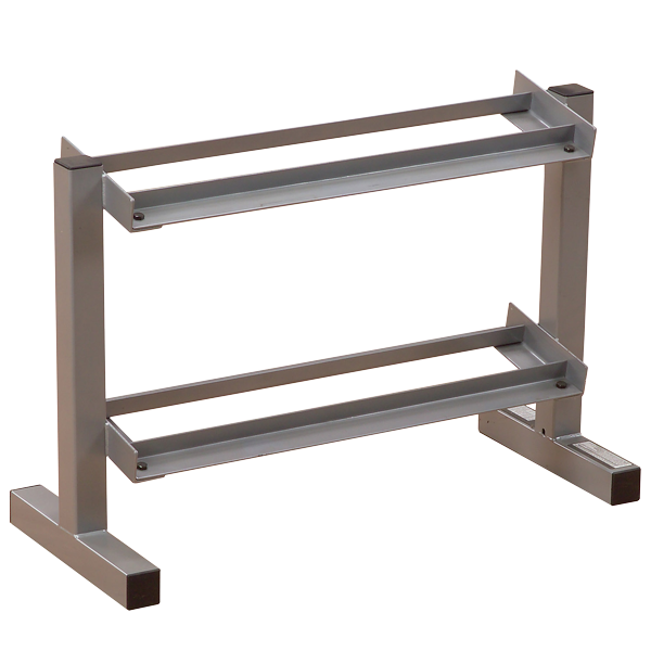 Powerline 2 Tier Dumbbell Rack