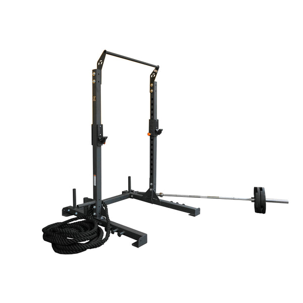 Torque Fitness X-Rack Warrior Squat Stand w/ Chin up