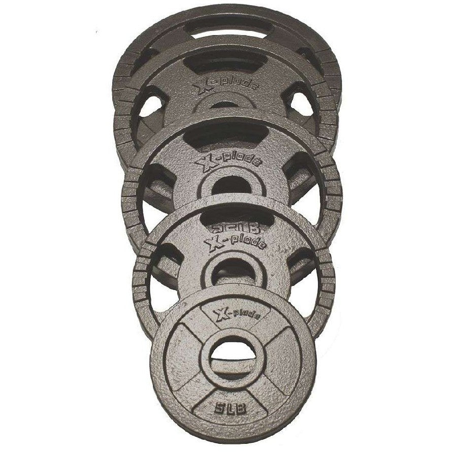 X-Plode Olympic Hammertone Steel Plate Weight