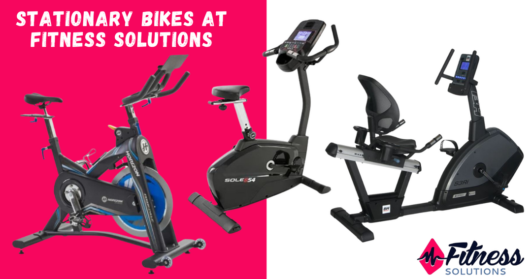 Types of Stationary Bikes at Fitness Solutions Saskatoon