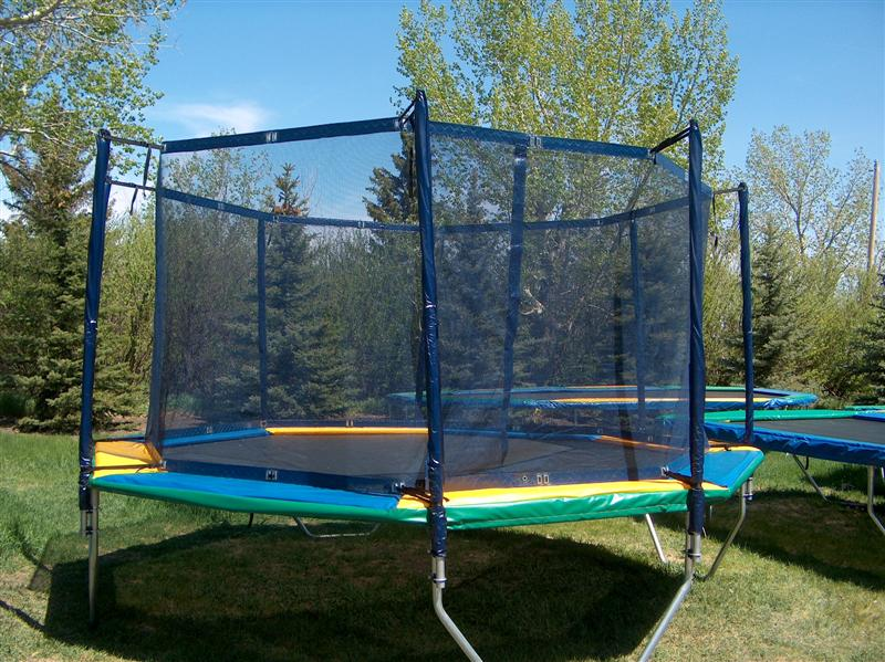 Fitness Solutions & AAA Trampolines Carries Saskatchewan Made Trampoline