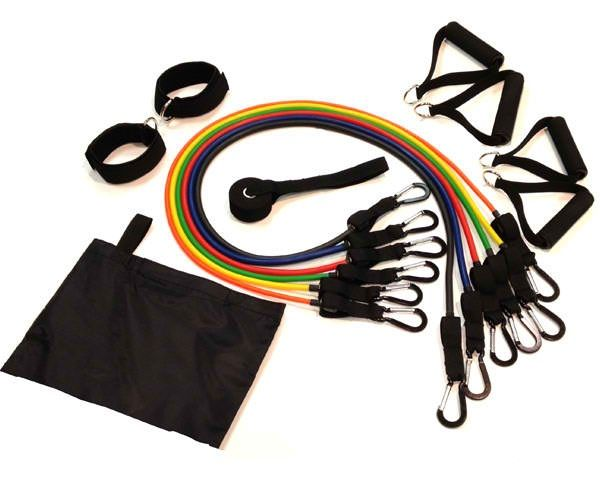 Fitness Tubing Power Pack - 14pc Set