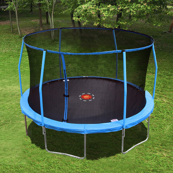Trainor Sports 13' Round Trampoline w/ Enclosure