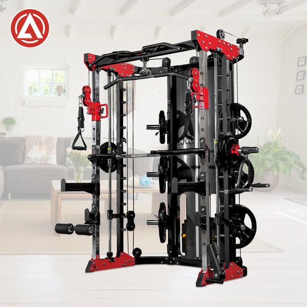Altas Fitness LIGHT-COMMERCIAL STRENGTH SMITH MACHINE AL-3058