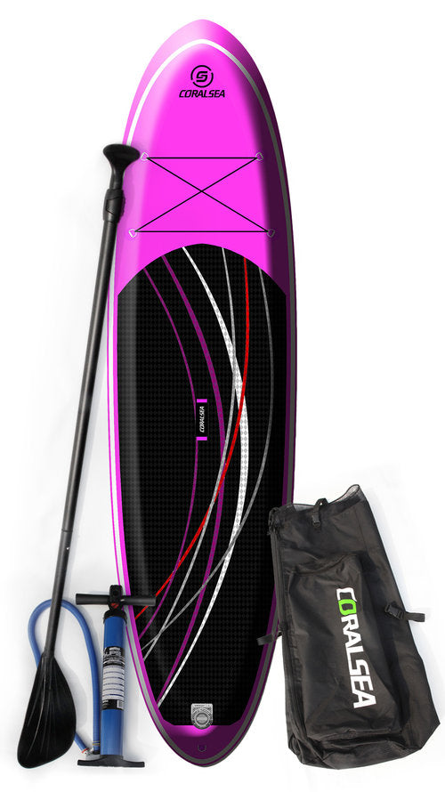 "Coral Sea Adrenaline Air 10' 6""All Purpose Inflatable SUP"