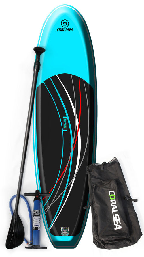 Coral Sea Adrenaline Air 10' All Purpose Inflatable SUP