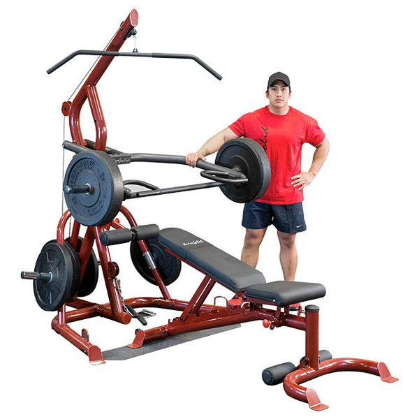 Body Solid Corner Leverage Gym Package - GLGS100P4