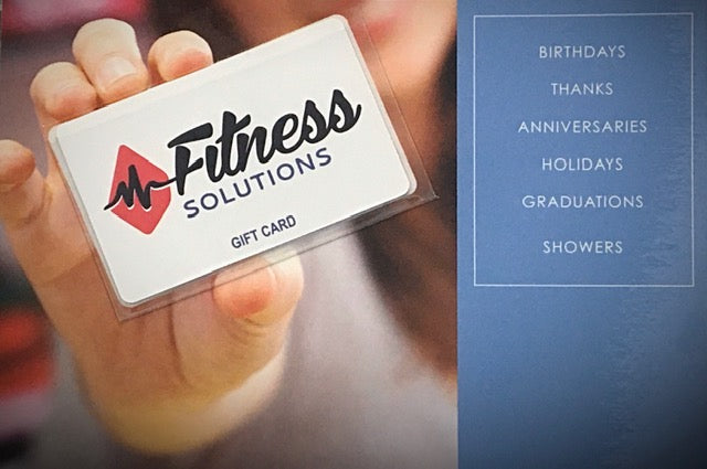 Fitness Solutions Gift Cards