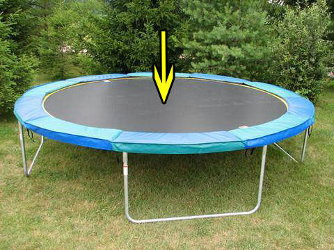 Trampoline Jumping Surface Repairs **Contact for Pricing