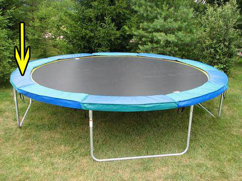 New Round/Octagon/12 Sided Trampoline Safety Pad **Contact for Pricing