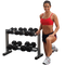 Body Solid Powerline 2-Tier Dumbbell Rack (PDR282X)