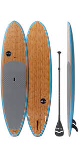 VESL Premium Stand-Up Paddleboard - Bamboo Blue