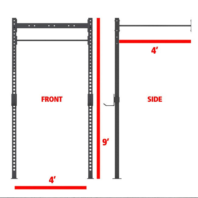 Xtreme Monkey 4 4 Wall Mount Rig V1 Contact For Pricing