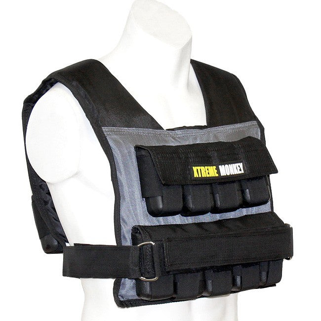 Xtreme Monkey 55Lb Commercial Adjustable Weighted Vest